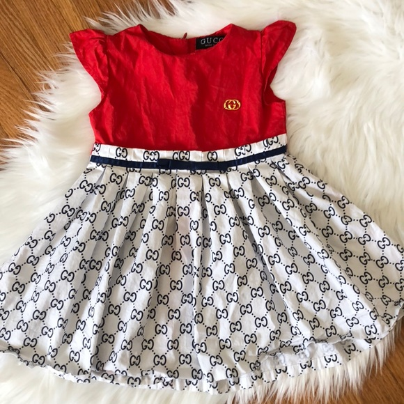 6cbd12084 Gucci Dresses | Final Pricetoddler Girl Dress | Poshmark